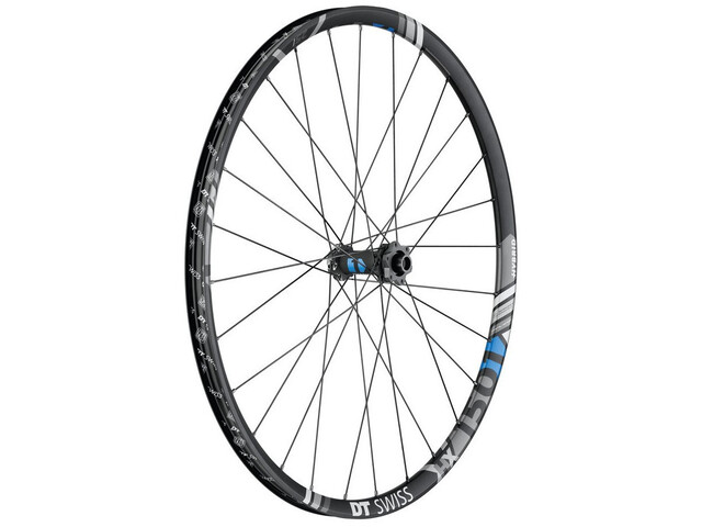 "DT Swiss HX 1501 Spline One Voorwiel 29"" Schijf IS 6-bouts 110/15mm TA Boost 25mm, black"
